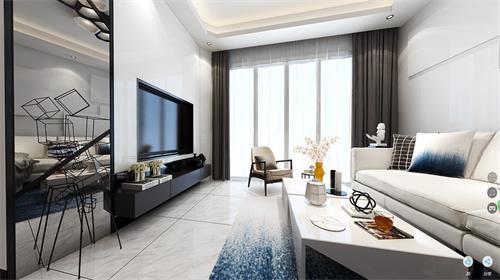 中澳春城22栋402 惊才艳艳的360度效果图